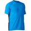 NRS H2Core Silkweight Short Sleeve Shirt Men Marine Blue Heather